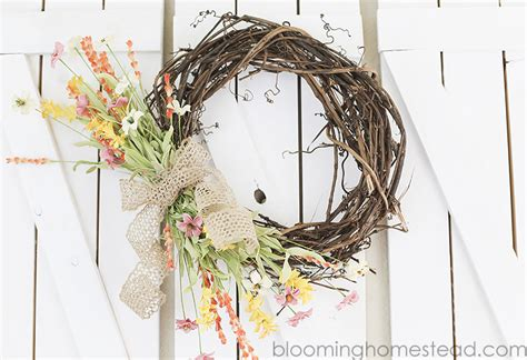 copy cat looks diy spring wreath diy crafts archives page 4 of 30 blooming homestead