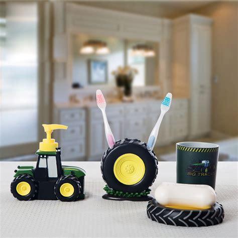 kid bathroom accessories sets 4 pcs kid bathroom accessories tractor