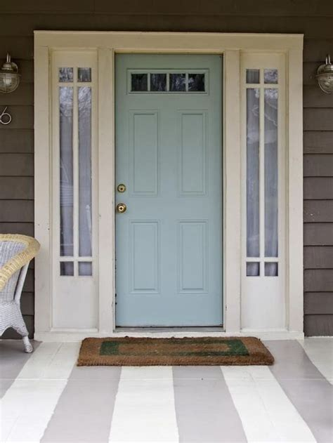 Blue Front Door Paint Popular Colors To Paint An Entry Door Master Bedrooms Colors And Bedroom Colors