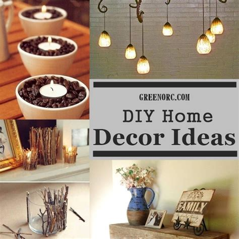 home decorating diy ideas 40 useful diy home decor ideas