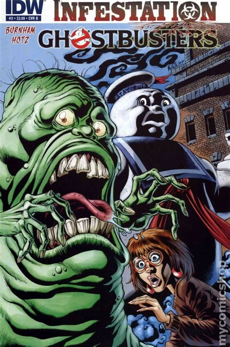 ghostbusters infestation 2011 idw comic books