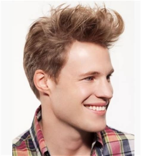 boys haircut long in front short in back 2012 trendy men hairstyle with short in the back and very