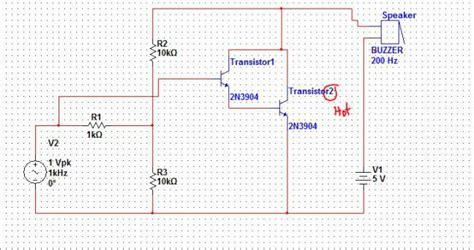 transistor darlington lifier lifier 2n3904 darlington pair electrical engineering stack exchange