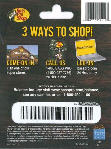 Where Can I Buy Bass Pro Shop Gift Cards - bass pro shops gift card 25 arts entertainment party celebration giving cards