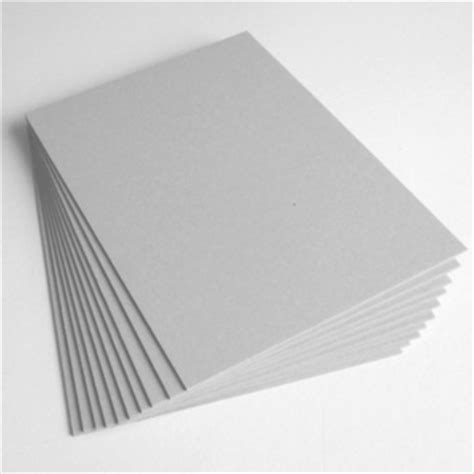 Kertas Manila Putih Deflection Manila Board Duplex Board Grey Back
