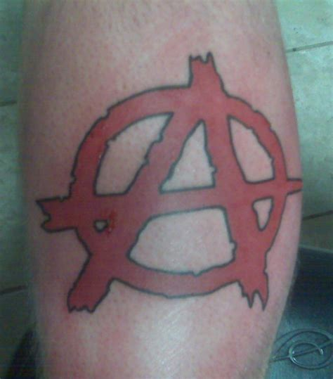anarchy tattoo ink