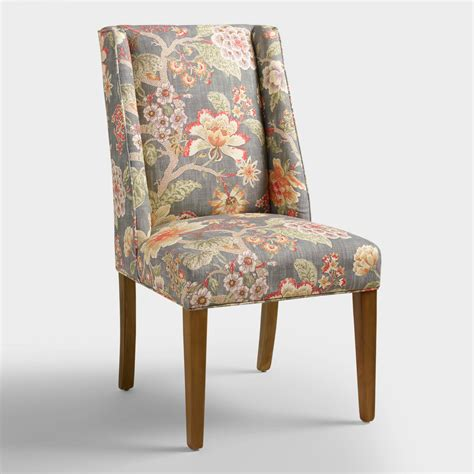 Floral Dining Room Chairs | room with a view floral lawford dining chair world market