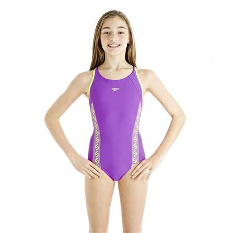 speedo girl swimsuit speedo monogram muscleback girls swimsuit ss13 sweatband com
