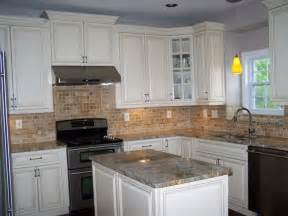 Kitchen Cabinets And Granite White Kitchen Cabinets With Granite Countertops The Home