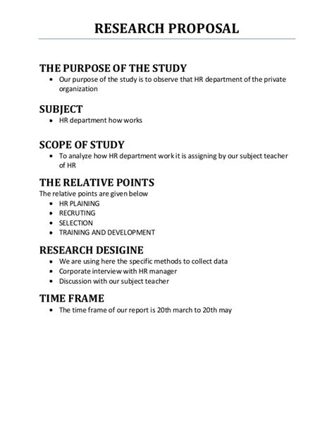 master s thesis outline research