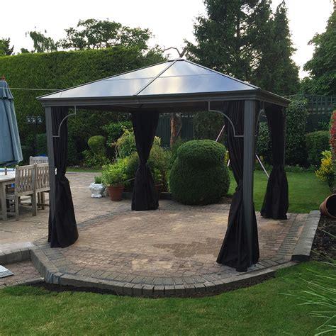 pavillon 3m kensington 3m x 3m polycarbonate patio pavilion