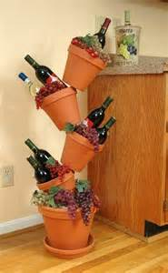 wine themed kitchen ideas 509 best images about clay pot crafts on