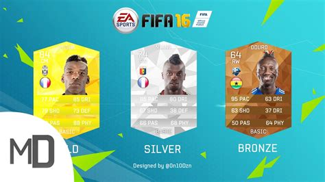 ultimate team layout fifa 16 ultimate team concept card design youtube