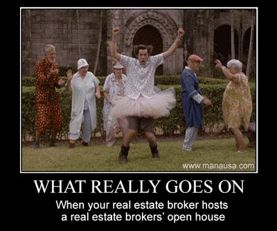 real estate history of a house what truly goes on at a broker s open house and why the