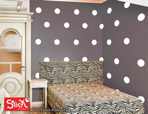 polka dot wall decals for rooms white polka dot wall decals polka dot wall stickers white