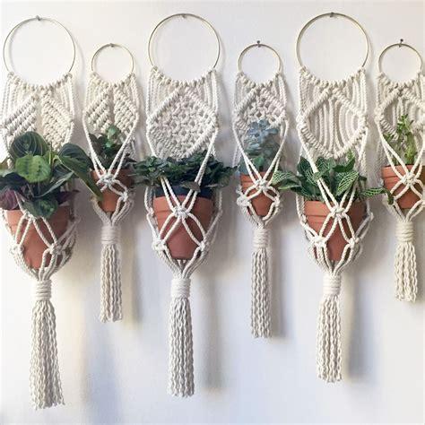 Macrame Knots For Plant Hangers - vintage macrame plant hanger ideas 2 amzhouse