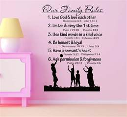 Other Words For Home Decor Family Rules Wall Quotes Heart Of Country Music