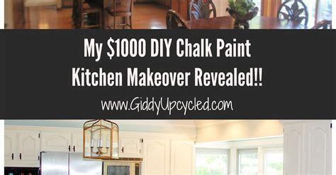 diy chalk paint kitchen diy chalk paint kitchen cabinet makeover hometalk
