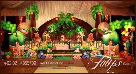animal themed decorations jungle animals theme decoration ideas in pakistan