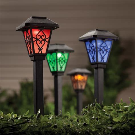 colored solar lights color changing solar light solar color changing light kimball