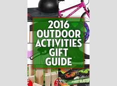 2016 Gift Guide: Outdoor Activities 2016 Xmas Gift Guide