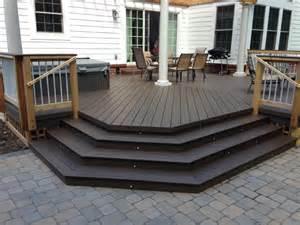 Extends indoor hardwood looks into outdoor living spaces in columbus