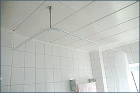 badewannen duschvorhang duschvorhangstange u form stange f 252 r duschvorhang