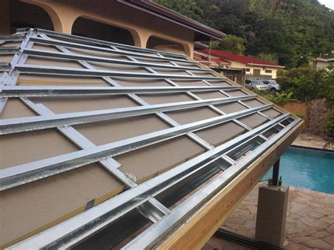 lite metal roof deck lightweight roof framing roof systems