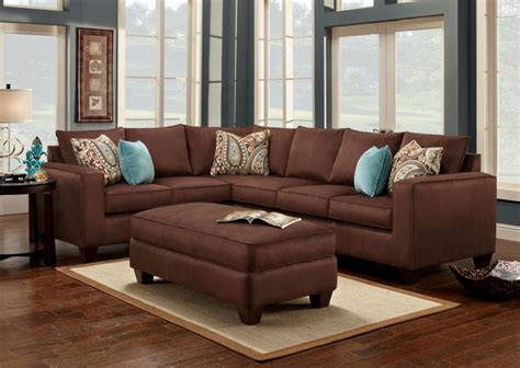wallpaper with dark brown furniture chocolate brown couch dark brown couch living room ideas