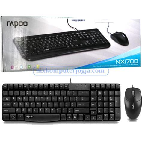 Keyboard Usb Jogja keyboard mouse rapoo nx1700 usb 171 toko komputer jogja