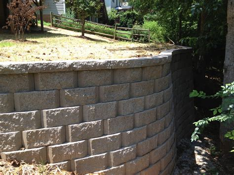 Residential Retaining Walls Residential Retaining Walls Lake Norman Shoreline