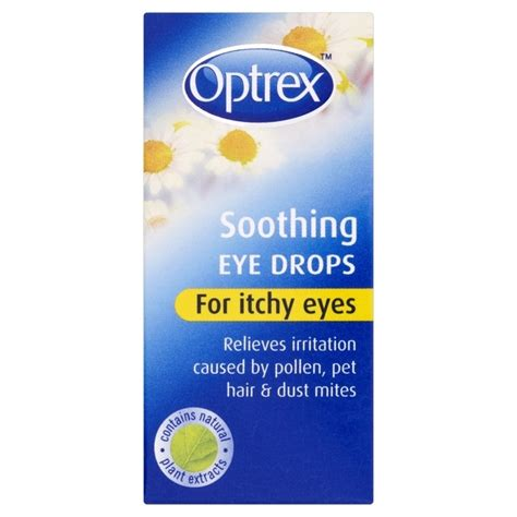 Boots C9 Detox by Optrex Soothing Eye Drops For Itchy 10ml From Ocado