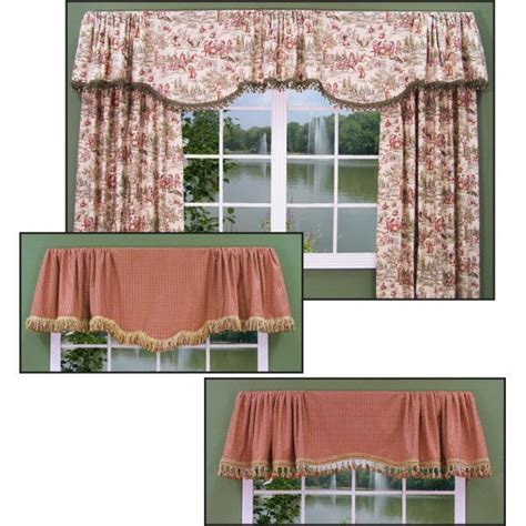 Window Treatments Valance Styles Two Valance Styles Fit Any Size Window Window