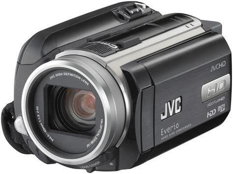 Jvc 2007 High Definition Everio Camcorder by Gz Hd40