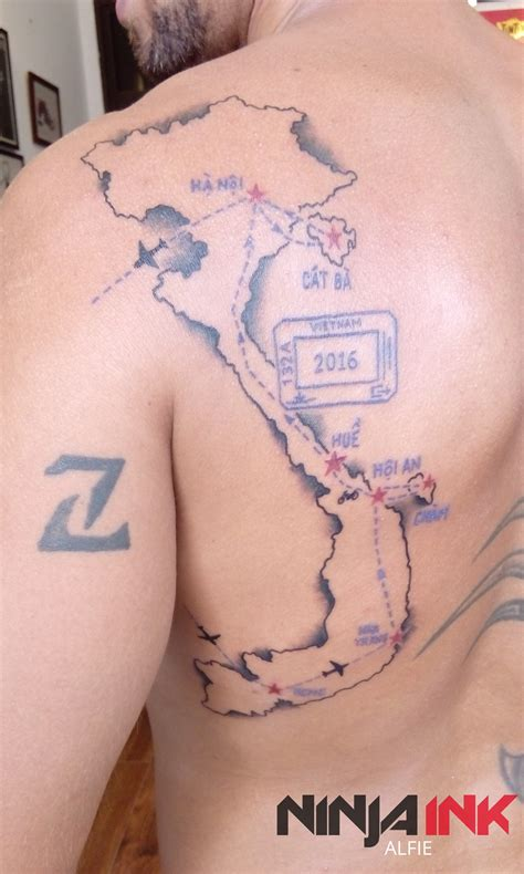 alfie tattoo designs map by alfie ink hanoi