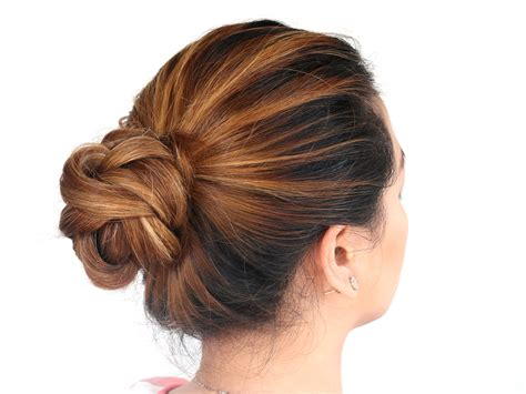 wiki how hairstyles how to do a 3d flower bun 14 steps with pictures wikihow
