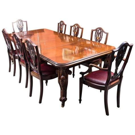 Antique Victorian Mahogany Dining Table 8 Chairs Ref Mahogany Dining Room Table And 8 Chairs