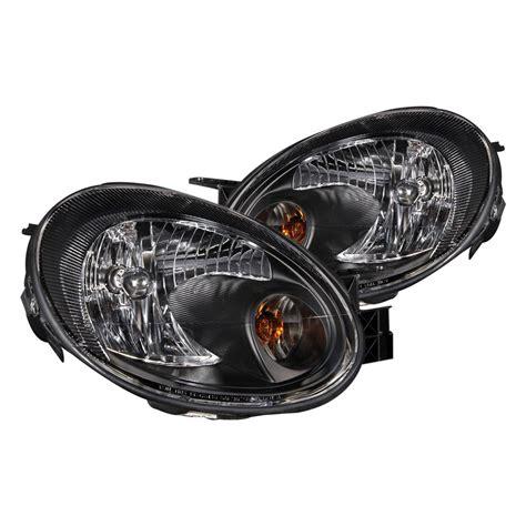 2003 dodge neon headlights anzo 174 121030 dodge neon 2003 2005 black headlights