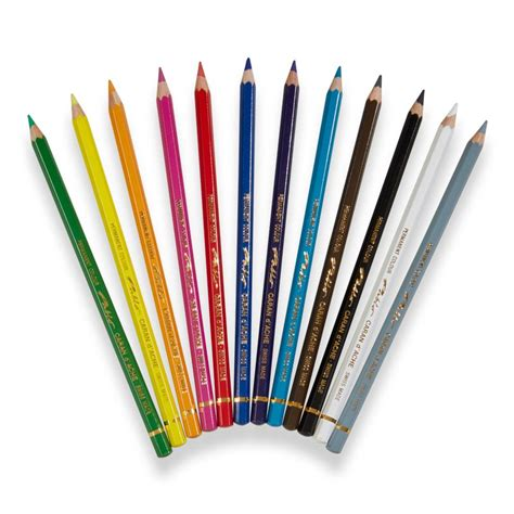 caran d ache colored pencils caran d ache pablo water resistant color pencils levenger