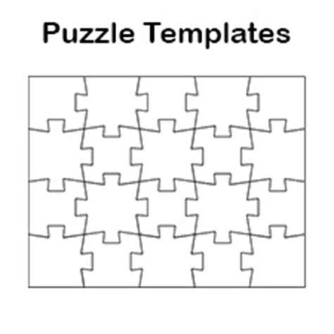 make your own crossword template blank jigsaw puzzle templates make your own jigsaw