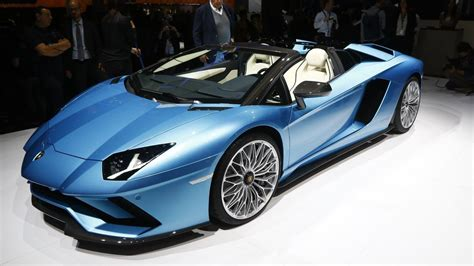 2018 lamborghini aventador s roadster live in frankfurt photo