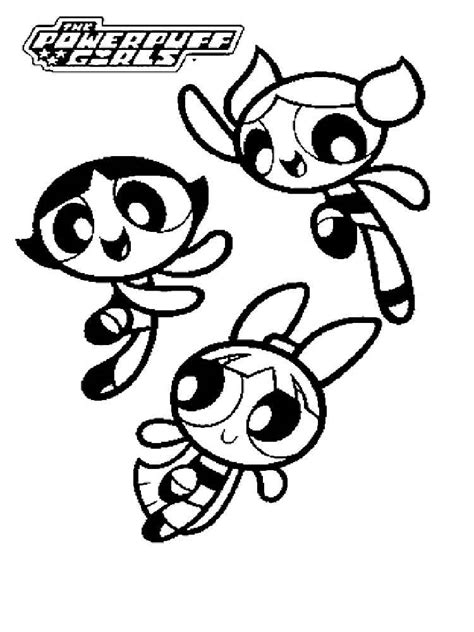 Powerpuff Buttercup Coloring Pages Free Printable Powerpuff Blossom Coloring Pages Free