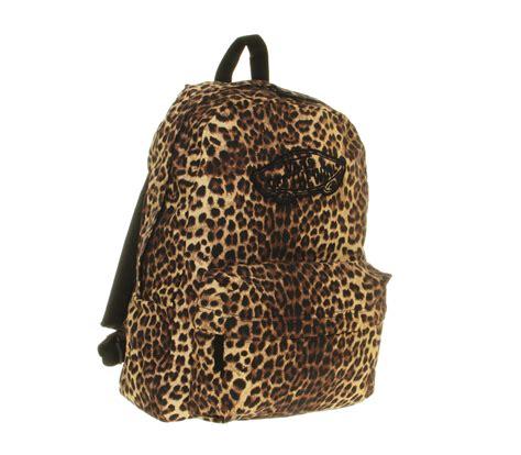 Leopard Print Backpack vans realm backpack in animal for leopard lyst