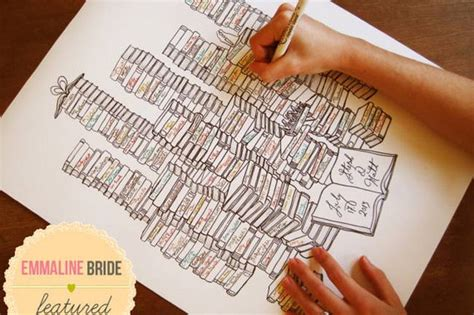 picture books ideas unique wedding guest book ideas trendy tuesday