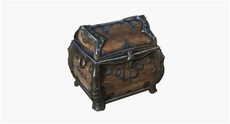 rugged chest 3d rugged chest