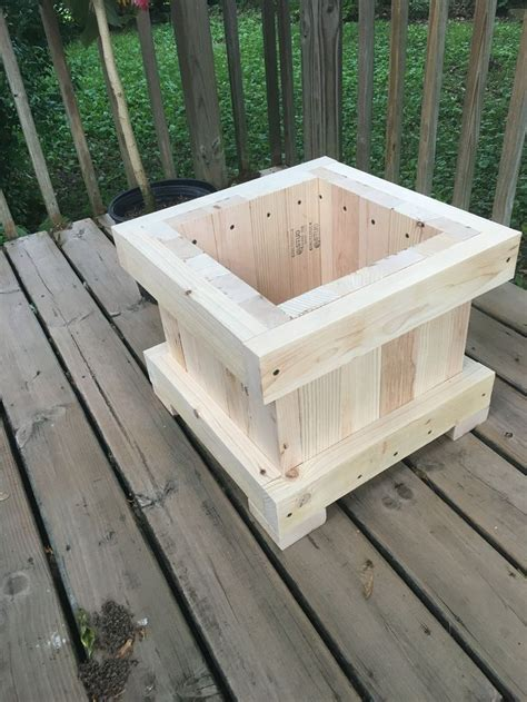 planter   woodworking wood planters