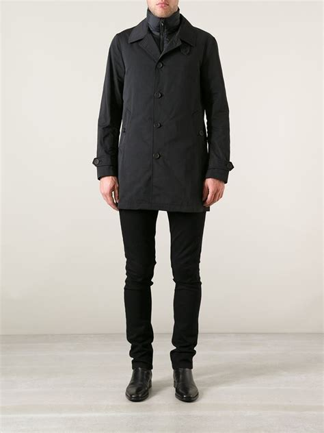 Kemeja Burberry Brit Classic Edition Brit 5 1 lyst burberry brit padded layer trench coat in black for