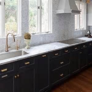 Ceramic Knobs For Kitchen Cabinets kitchen with light gray cabinets and dark gray cabinets