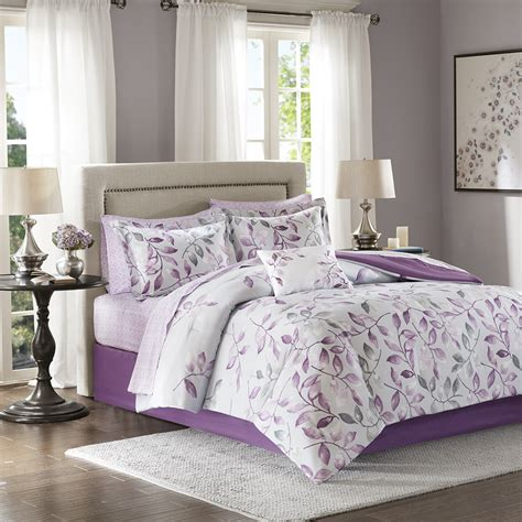 madison park comforter sets madison park essentials lafael complete comforter set ebay
