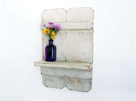 items similar to bathroom decor wood wall shelf